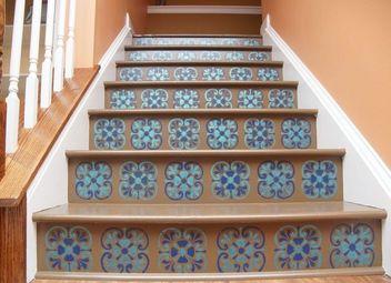 The Secret Out How Stencil Tile Floor Hometalk