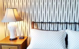 stenciled room ideas featuring the beads allover stencil, bathroom ideas, bedroom ideas, painting, wall decor