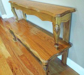 Entryway Table From Repurposed Coffee TableHometalk