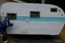 adding extra space by getting a camper, home improvement, outdoor living, Before picture