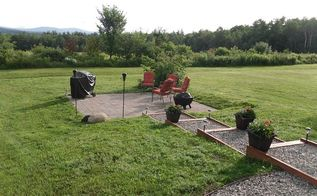 our backyard makeover, concrete masonry, landscape, outdoor living, patio