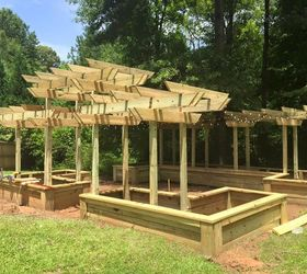 Diy Georgia Raised Garden, Gardening, How To, Raised Garden Beds,  Woodworking Projects SteveAndrea Bourne