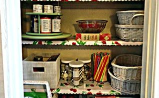 pantry organizing for cheap, closet, organizing, repurposing upcycling