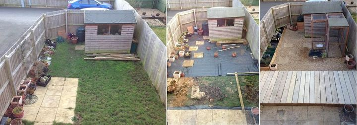 Before and After Small Garden   Hometalk
