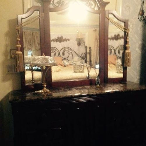 mediterranean bedroom furniture. i know removing the mirror from dresser would help but thereu0027s still mediterranean bedroom furniture s