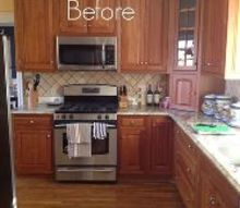 from dark to light a kitchen makeover, kitchen cabinets, kitchen design