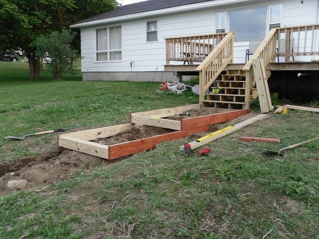 How To Build Steps On A Slope Landscape Outdoor Living Patio Stairs