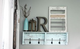easy diy pallet coat rack, organizing, pallet, repurposing upcycling