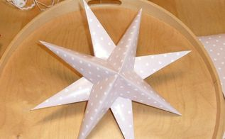 easy diy paper stars home decor, crafts, how to