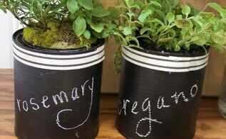DIY Paint Can Herb Garden | Hometalk