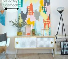 diy mid century modern credenza, diy, how to, painted furniture, woodworking projects