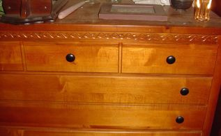 q paint or stain a dresser, painted furniture