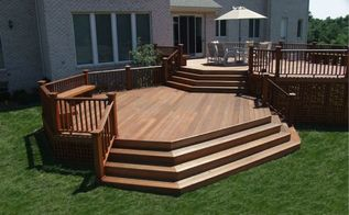 design build decks getting creative in your deck design, decks, outdoor living, Mahogany Decks