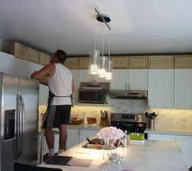 kitchen transformation hometalk inspirational adding height to kitchen cabinets   taste  rh   thetasteemaker com