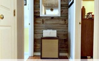 diy rustic wood wall, repurposing upcycling, wall decor, woodworking projects