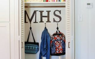back to school organizing closet, closet, organizing