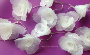 how to make hot glue flowers, crafts, diy, how to, repurposing upcycling