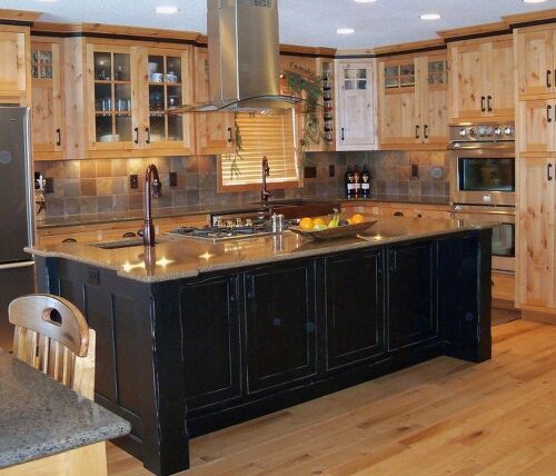 Knotty Oak Kitchen Cabinets: Painting ONLY Doors And Drawer Fronts?
