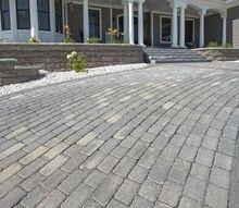 paver driveway, concrete masonry