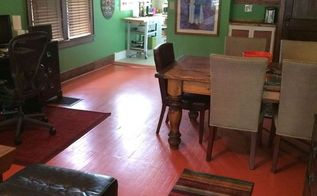 how to transform a floor with paint, flooring, painting, Lara Edge for HouseLogic com