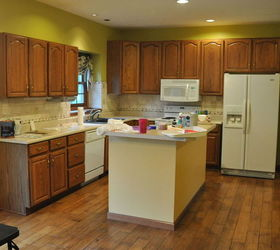 Superior Refresh Oak Kitchen Cabinets #7: Oak Kitchen Makeover, Kitchen Cabinets, Kitchen Design, Painting