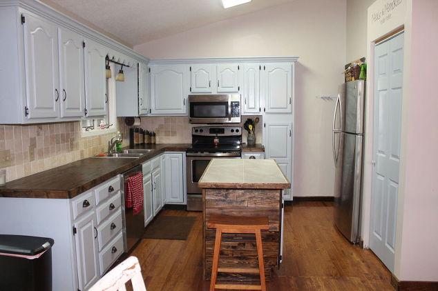Diy Budget Kitchen Reno Countertops Kitchen Cabinets Kitchen Design