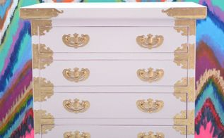 mini chest of drawers makeover, chalk paint, decoupage, diy, painted furniture