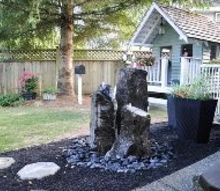 how to install your own water feature, how to, outdoor living, ponds water features