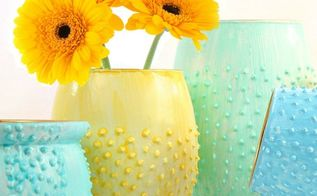 gorgeous flower vases diy, crafts, flowers, gardening, home decor, how to