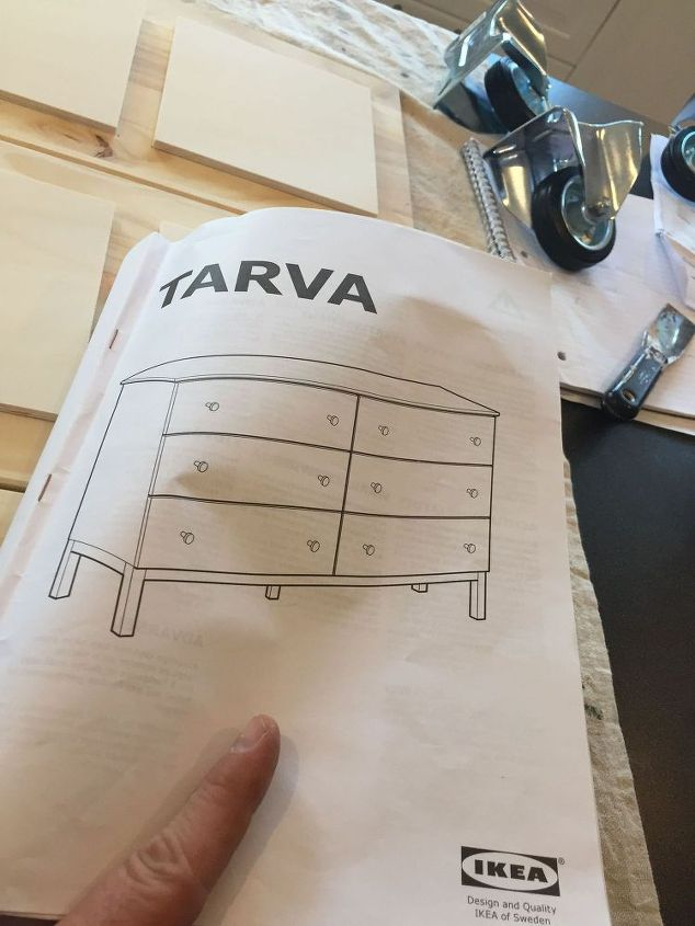 IKEA Hack Turn A Tarva Dresser Into An ApothecaryStyle TV