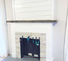 Make A Fake Fireplace Part - 49: Faux For Now Fireplace, Fireplaces Mantels, How To