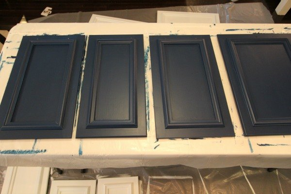 How To Paint Kitchen Cabinets With Velvet Finishes Hometalk