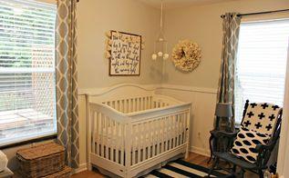 cottage style nursery on a budget, bedroom ideas