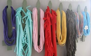 diy scarf rack from repurposed fence, crafts, fences, how to, organizing, repurposing upcycling