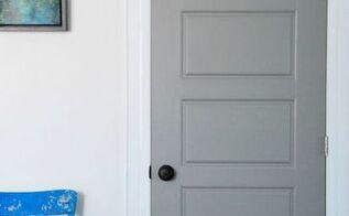diy gray painted interior doors, doors, how to, painting