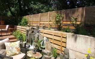 urban japanese garden, decks, gardening, landscape, outdoor living, ponds water features, Modern Japanese Water Feature