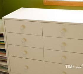 Superior How To Create A Hidden Vertical Space To Store Large Size Paper, Craft  Rooms,