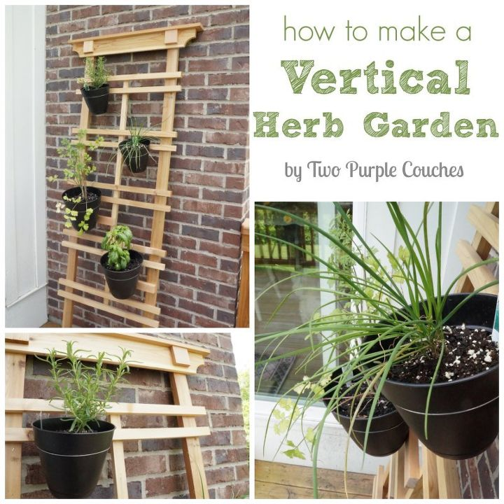 How to make a vertical garden how to build pallet vertical for How to build a vertical pallet garden