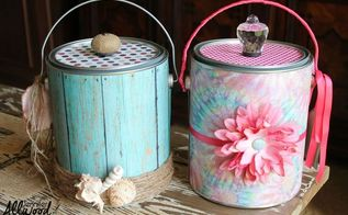 diy back to school buckets a k a brown nosing buckets, crafts, how to, repurposing upcycling