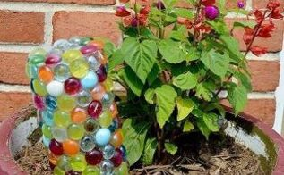 wine bottle plant watering stake, crafts, gardening, how to, repurposing upcycling