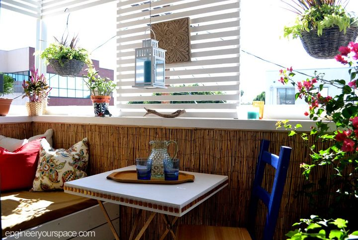 small rental balcony makeover before and after  outdoor furniture  outdoor  living  porches. Small Rental Balcony Makeover  Before and After   Hometalk