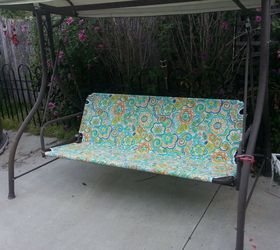 Good Revamp Patio Garden Swing, Outdoor Furniture, Painted Furniture, Reupholster