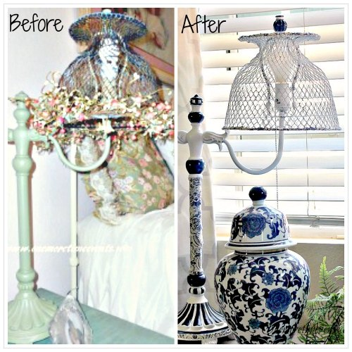 Upcycled Lamps And Lighting Ideas: Upcycled, Repurposed Lamp And Lighting Ideas