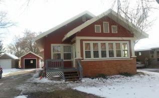 q new siding what color should i paint the wooden porch, curb appeal, paint colors, painting, porches
