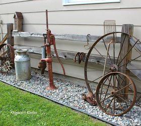 Garden Decor Ideas from Junk Hometalk