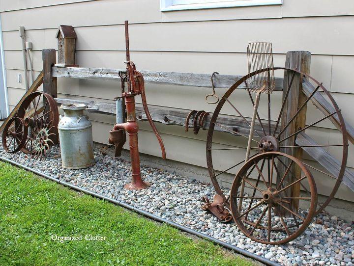 garden decor ideas from junk landscape outdoor living repurposing upcycling - Outdoor Garden Decor