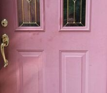 q looking for a simple fix for front door issue, curb appeal, doors, home maintenance repairs, painting