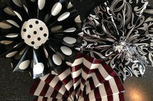 practically perfect paper fans, crafts