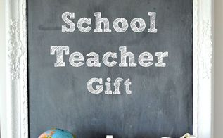 back to school school teacher gift, crafts