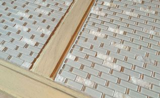 how to mosaic a table top, concrete masonry, crafts, how to, painted furniture